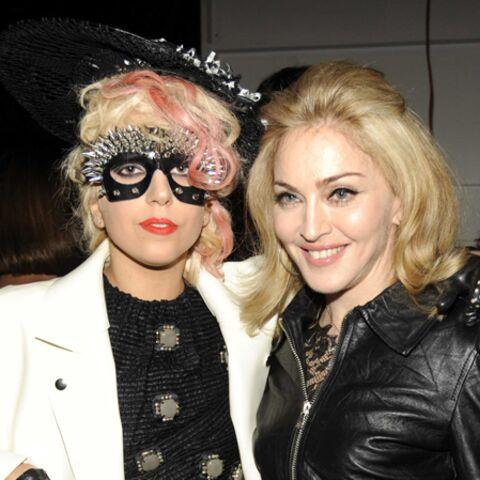 Madonna fan de lady Gaga