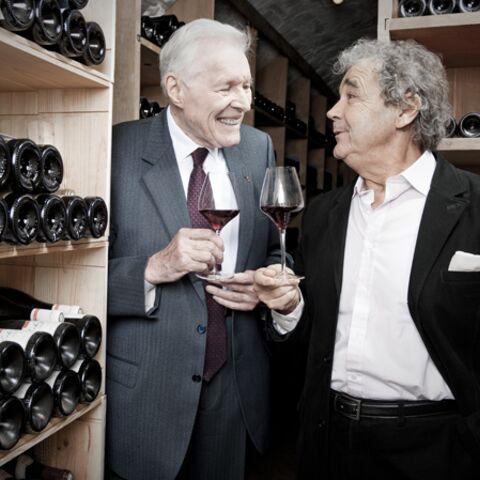Le professeur Cabrol et Pierre Perret: rencontre inattendue