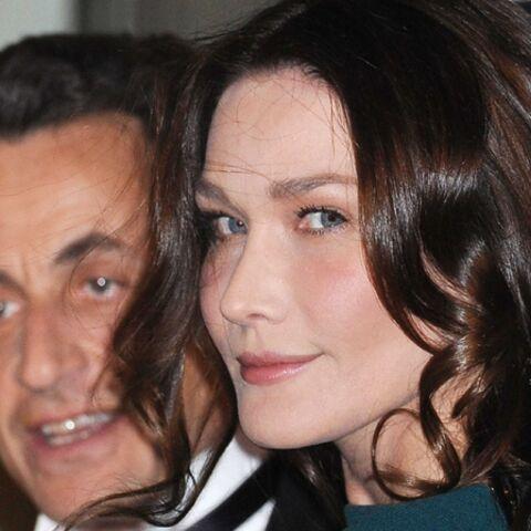 Carla Sarkozy, toujours fidèle au Président