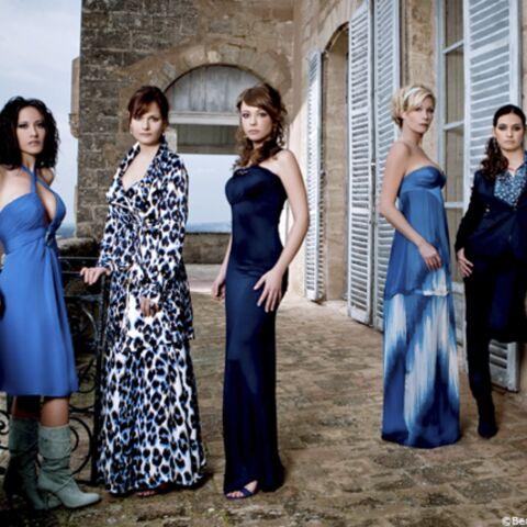 Photos: séance glam' pour les actrices de Plus Belle La Vie