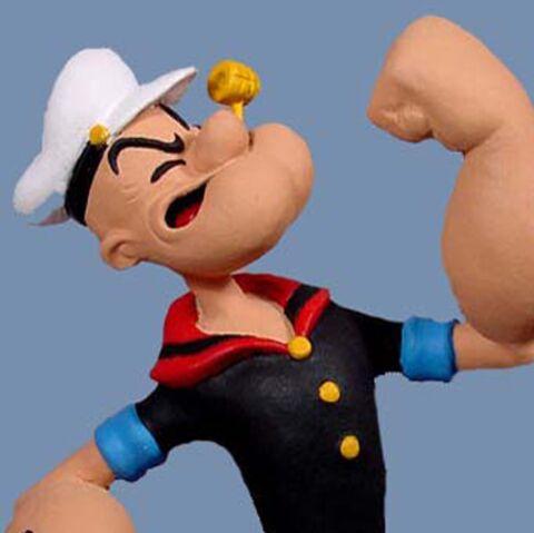 Popeye: ses biceps en 3D!