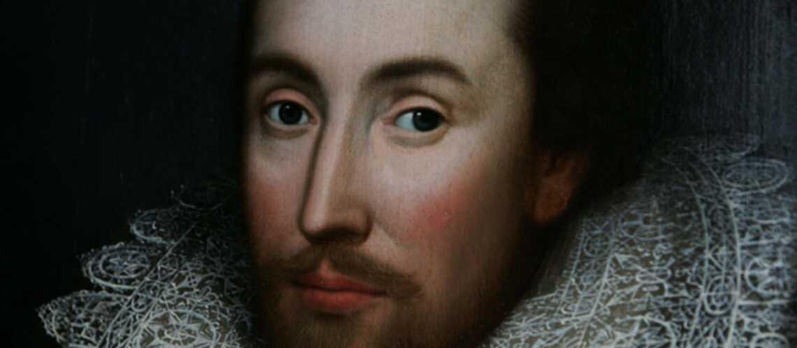 Le vrai visage de Shakespeare: le nez fin et le front large