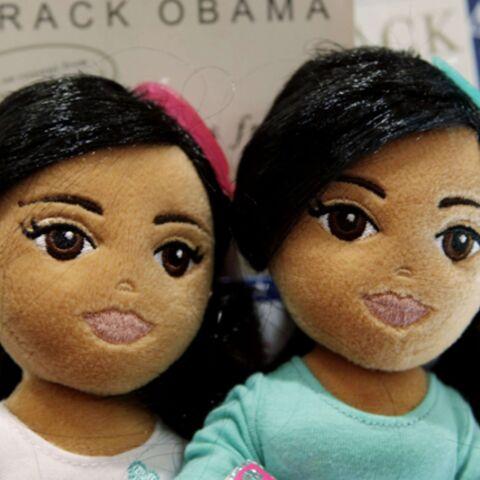 Obamania: des poupées à l'effigie des filles du Président