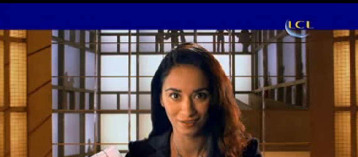 video- eric cantona  son  u00e9pouse dans une pub pour une banque