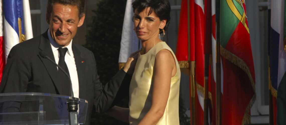 Nicolas Sarkozy salue en Rachida Dati «la jeune maman»