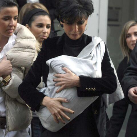 Rachida Dati: premières photos après bébé