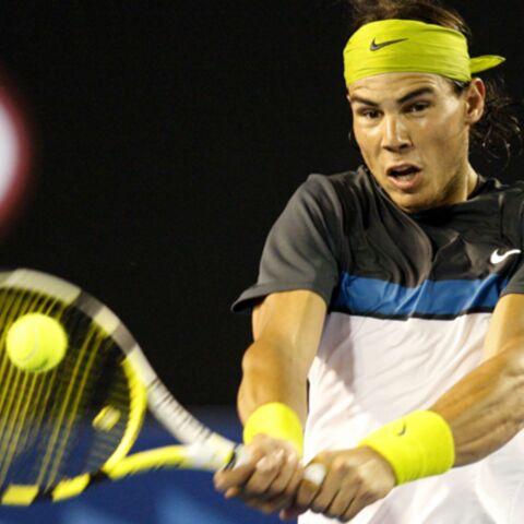 Open d'Australie: Rafael Nadal se balade