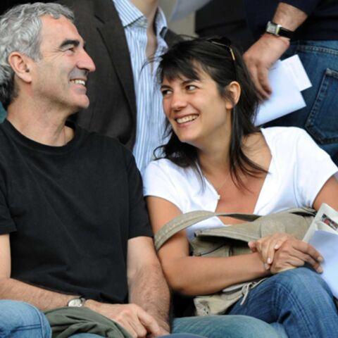 Raymond Domenech demande Estelle Denis en mariage