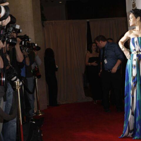 La robe ensanglantée de Rihanna, une preuve