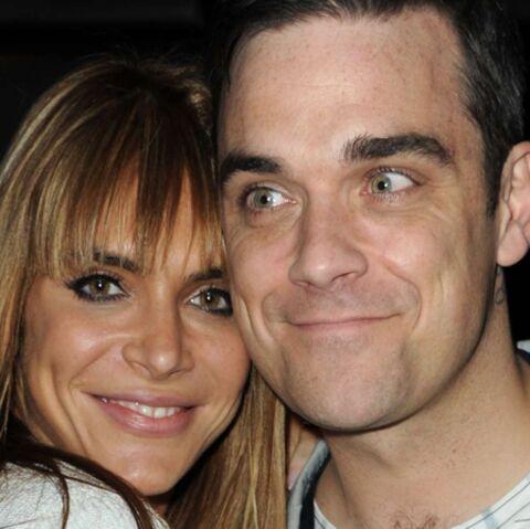 Photo- Robbie Williams et sa femme heureux sur papier glacé