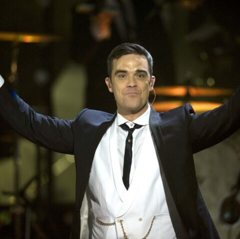 Robbie Williams, bien parti en pyjama