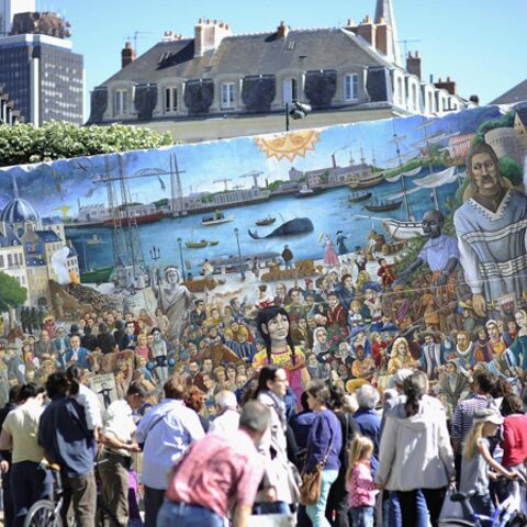 Royal de Luxe: la Petite Géante est de retour à Nantes