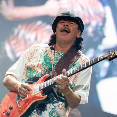 Santana: sa demande en mariage en plein concert