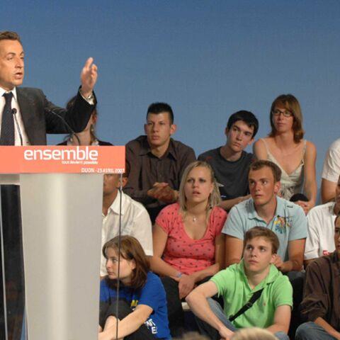 Nicolas Sarkozy: laissez venir à moi les «petits jeunes»