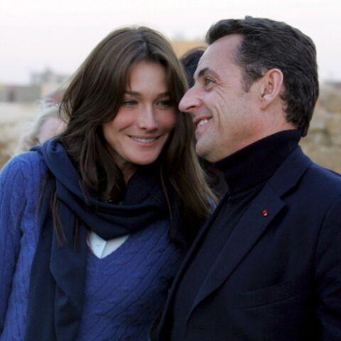 Carla Bruni n'accompagnera pas Nicolas Sarkozy en Inde