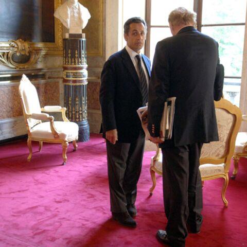 Quand Nicolas Sarkozy blâme Brice Hortefeux…