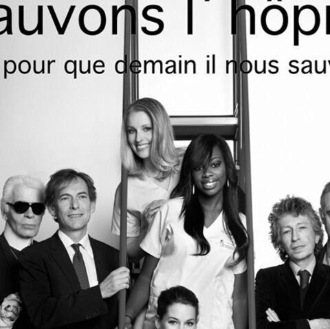 Adjani, Lagerfeld, Farrugia… au chevet de l'hôpital