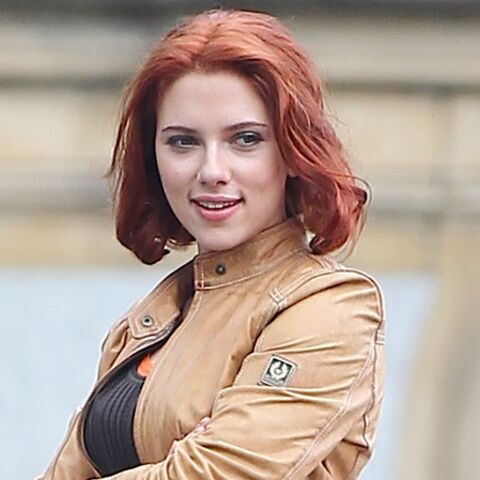 Scarlett Johansson in Paris with love