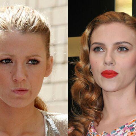 Scarlett Johansson et Blake Lively: duel de blondes pour Gravity