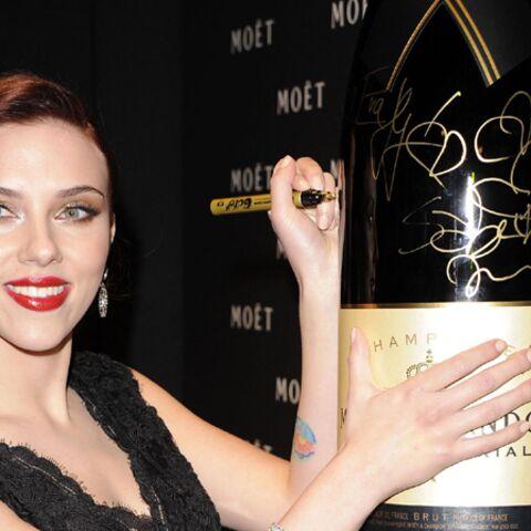 Scarlett Johansson: le champagne excuse-t-il tout?