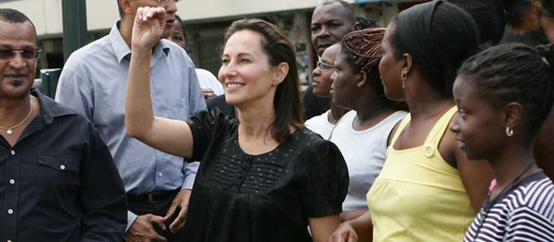 Ségolène Royal embrase la Guadeloupe, les politiques s'enflamment