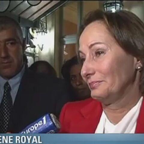 Vidéo- Ségolène Royal: larmes à gauche