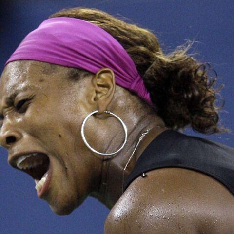 Regardez – Serena Williams pique sa crise sur le court