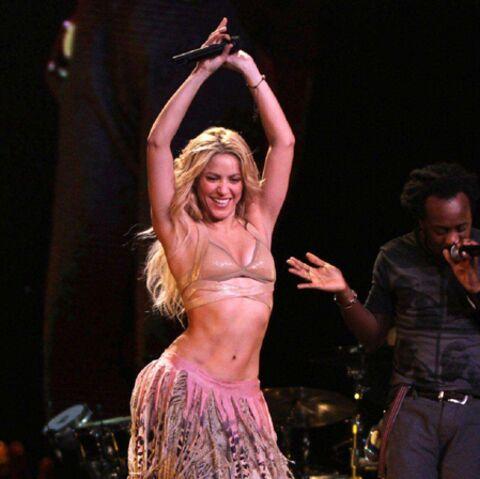 Shakira: l'amour sur scène
