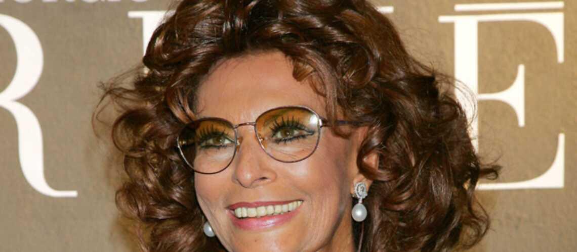 Sophia Loren revient au cinéma sous la direction de son fils