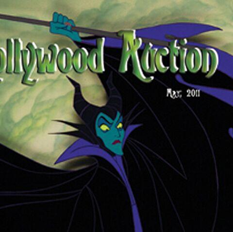 Disney, James Dean, Sylvester Stallone et Tim Burton aux enchères