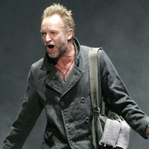 Sting sing en France