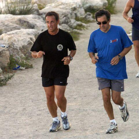 Sarkozy en chute libre, Fillon en parachute