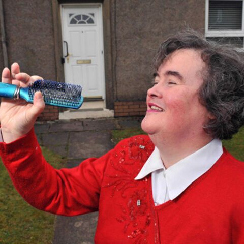 Susan Boyle: relooking exprès