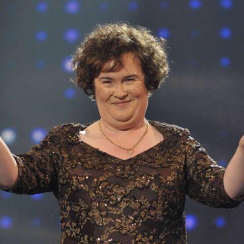 Regardez- Susan Boyle, sa première séance photo de mode