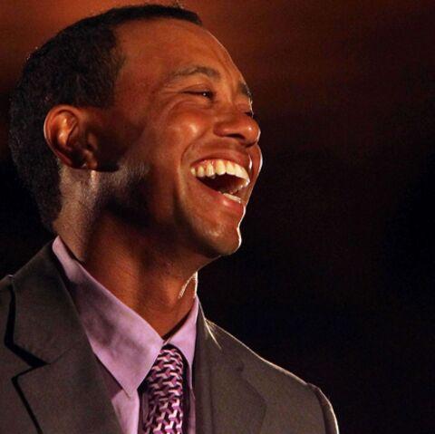 Tiger Woods sort du bois