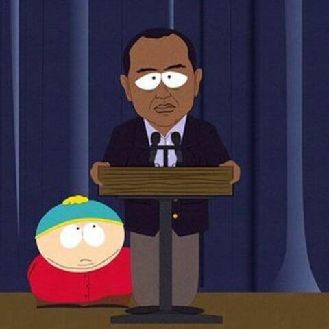 Tiger Woods bientôt dans South Park