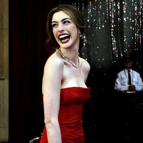 Anne Hathaway en tête des végétariens les plus sexy
