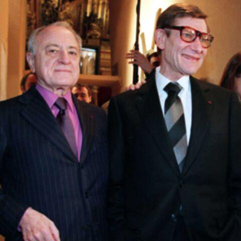 Pierre Bergé fête les 5 ans de la mort d'Yves Saint Laurent