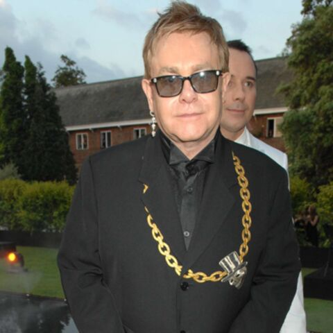 Elton John tout de glace