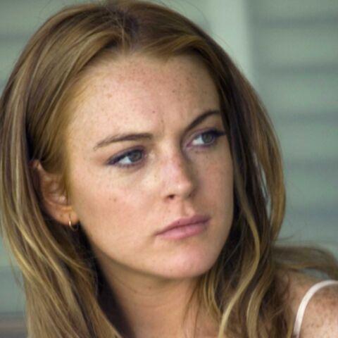 Lindsay Lohan renversée par une moto
