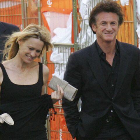 Sean Penn retrouve le sourire avec Robin Wright