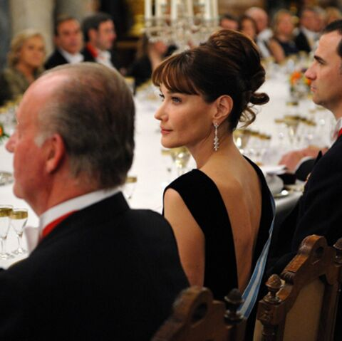 Photos: l'Espagne flashe sur Carla Bruni-Sarkozy