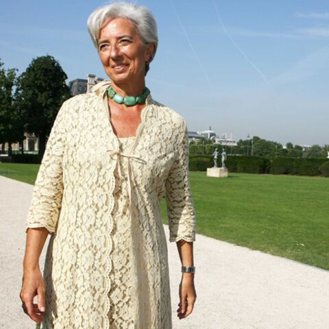 Christine Lagarde, le moral