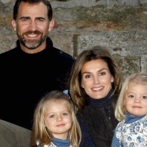 Felipe et Letizia: jamais sans nos filles!