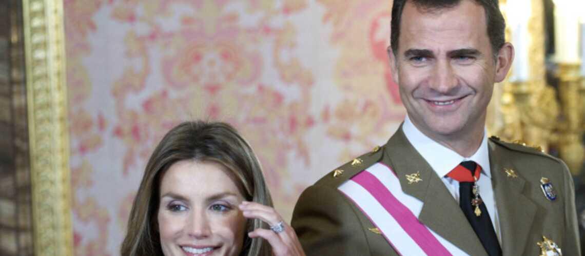 Letizia et Felipe d'Espagne: un cœur gros comme ça…