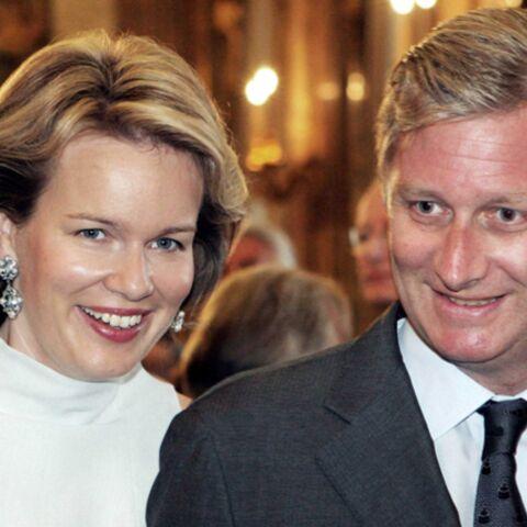 Philippe et Mathilde de Belgique
