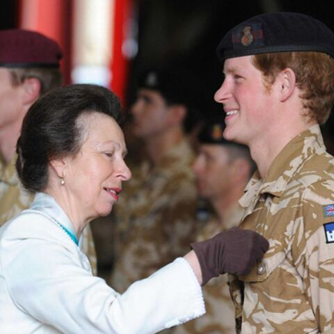 Le prince Harry a reçu sa première médaille militaire