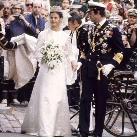 Exclusif: une robe de rêve pour une cérémonie de légende