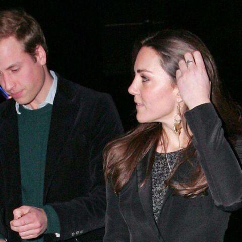 William et Kate: au théâtre ce soir…