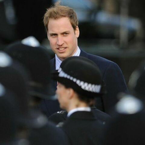 Le prince William: «J'aurais voulu être policier!»